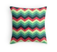 Chevron Pattern 1 Throw Pillow