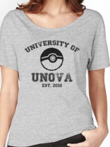 University of Unova Women's Relaxed Fit T-Shirt