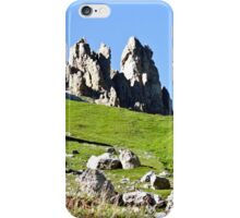 Panorana of rocks and mountain peaks (Italy) iPhone Case/Skin