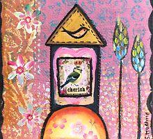 Little birdhouse by sue mochrie