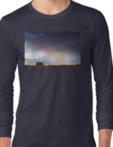 Positive Pink Lightning On the Prairie  Long Sleeve T-Shirt