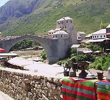 Stari Most Mostar by Fred Hahn