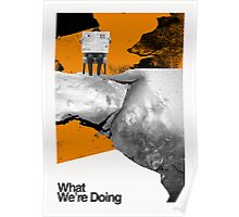 What We're Doing Poster
