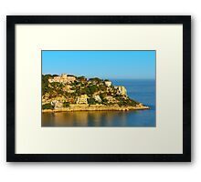Nice at Sunset, Southern France Framed Print