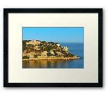 Nice at Sunset, Southern France Framed Print