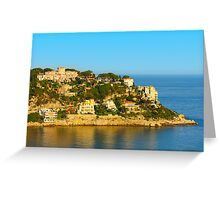 Nice at Sunset, Southern France Greeting Card