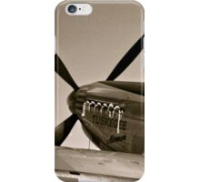 Tuskegee P-51 Mustange Vintage Fighter Plane iPhone Case/Skin