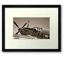 Tuskegee P-51 Mustange Vintage Fighter Plane Framed Print