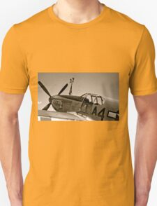 Tuskegee P-51 Mustange Vintage Fighter Plane T-Shirt
