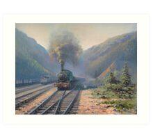 Coal country Art Print