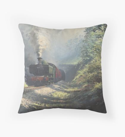 The Merthyr Tunnel Throw Pillow
