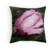 Lilactime Bud - Spring 2010 Throw Pillow