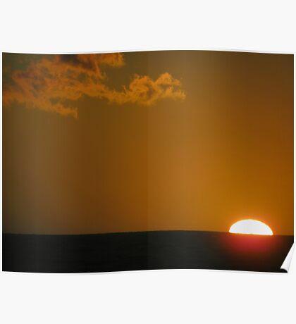 Sun, Sea, Cloud. Poster