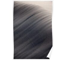 Windswept Sand Dunes Poster