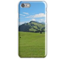 Green mountains (Italy) iPhone Case/Skin