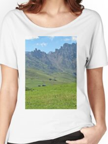 Green mountains (Italy)2 Women's Relaxed Fit T-Shirt