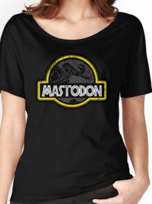 Jurassic Power Black Women's Relaxed Fit T-Shirt