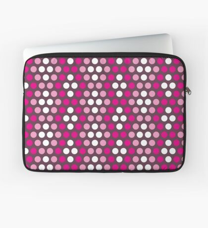 Pattern in circles Laptop Sleeve