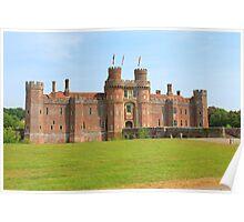 Herstmonceux Castle East Sussex U.K.  Poster