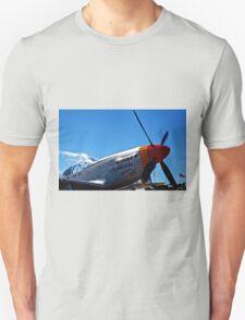 Tuskegee Airmen P51 Mustang Fighter Plane T-Shirt