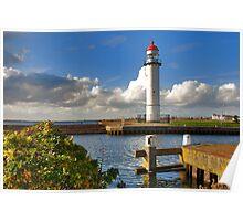Lighthouse of Hellevoetsluis Poster