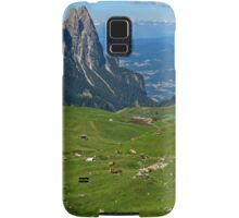 View from the top of a mountain Samsung Galaxy Case/Skin