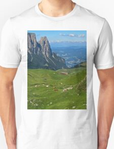 View from the top of a mountain T-Shirt