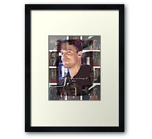 Oliver Happy Framed Print