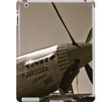 Tuskegee Airmen P51 Mustang Fighter Plane iPad Case/Skin