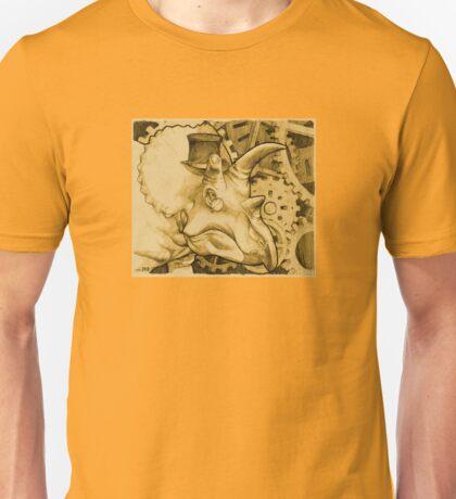 Lord Triceratops - Orange Tone Unisex T-Shirt
