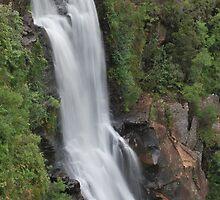 Carrington Falls. by Warren  Patten