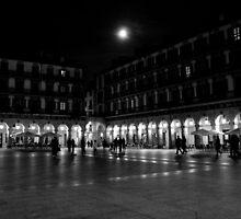 Plaza de la Constitucion, San Sebastian by Sue Tyler