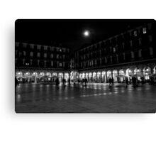 Plaza de la Constitucion, San Sebastian Canvas Print