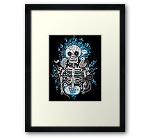 Skeleton Man Framed Print