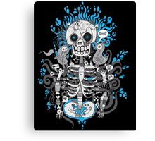 Skeleton Man Canvas Print