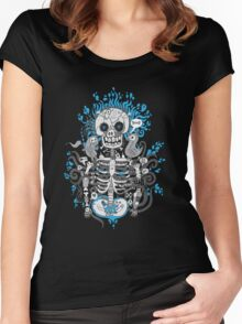 Skeleton Man Women's Fitted Scoop T-Shirt