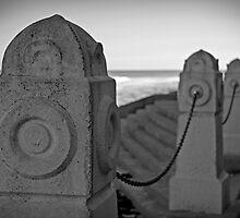 Beach Pylons by Rachael Cunningham