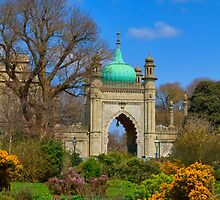 The Royal Pavilion - Brighton - England by Bryan Freeman