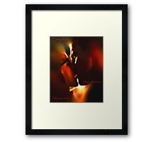 Storybook First Kiss Framed Print
