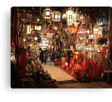 Aladdin Lamps Canvas Print