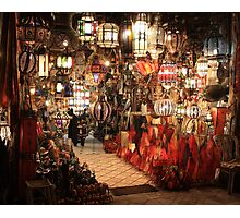 Aladdin Lamps Photographic Print