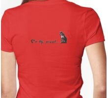 on the prowl.... Womens Fitted T-Shirt
