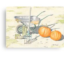 Home Grown Halloween! Canvas Print