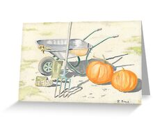 Home Grown Halloween! Greeting Card