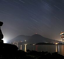Star Trails Over Konocti by posterity