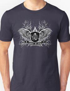 Gracie Jiu Jitsu BJJ (White) T-Shirt