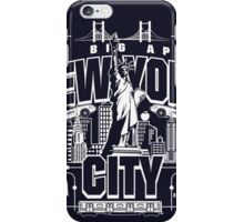 NYC in all its glory iPhone Case/Skin