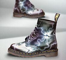 Custom Dr. Martens - Silver Spore by Corbin Adler