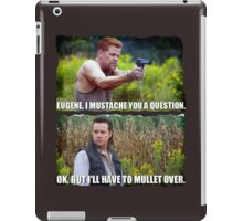 Mullet for the Win iPad Case/Skin