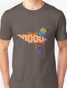 Origami Humming Bird - Pattern1 T-Shirt
